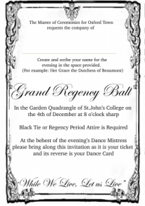 Sample invite single